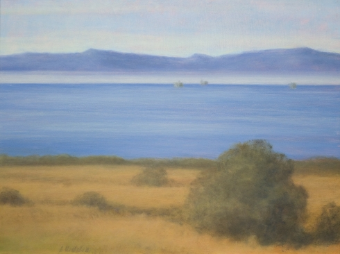 SARAH VEDDER, Carpinteria Bluffs to the Islands, 2012