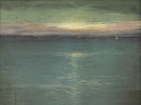 LEON DABO (1864-1960), The Peak of Arran, 1906