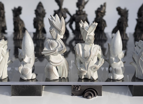 CHECKMATE: New Works by Gil Bruvel