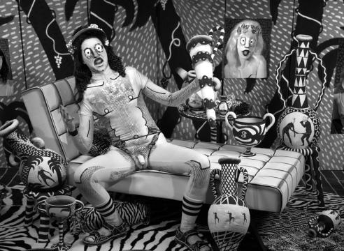 Mary Reid Kelley: The Thong of Dionysus