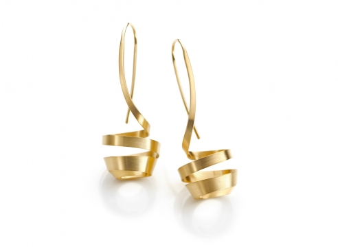 Fern - earrings by Oliver Schmidt