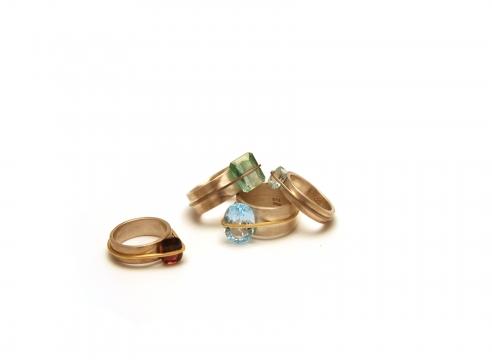Bundle Rings by Silke Spitzer