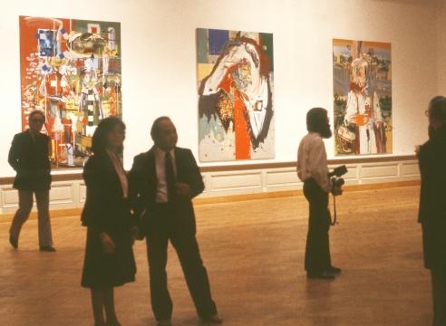 1984 - Museé Cantonal des Beaux Arts Lausanne