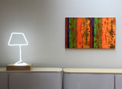 Paintings and Sculptures with Wolfgang Laubersheimer