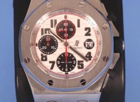 Audamars Piquet Stainless Steel Chronograph Watch Ref. 26170ST.OO.D101CR.02