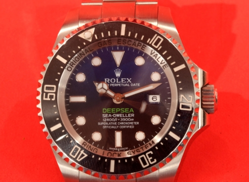 Rolex Sea Dweller Deep Sea Blue/Black, Ref.#116660