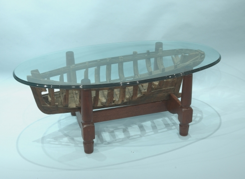 Hawks Nest Model Boat Table
