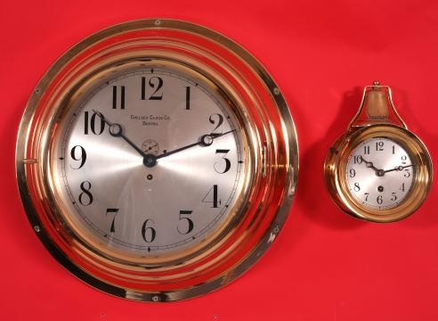 Twelve Inch Chelsea Ward Room Clock #8970