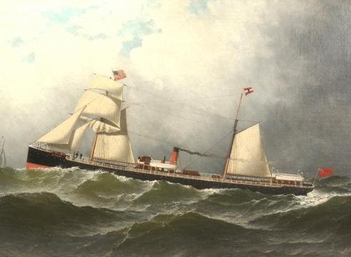 S.S. Bermuda by Antonio Jacobsen