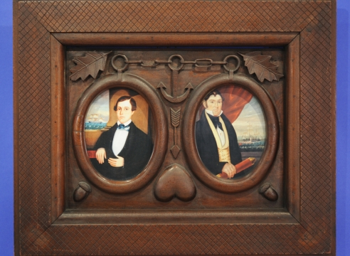 Nautical Frame for Double Portrait