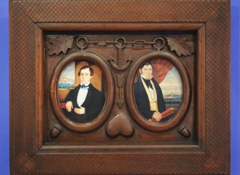 Nautical Frame for Double Portrait