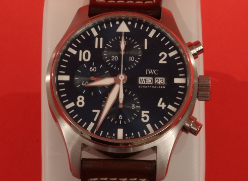 IWC Little Price Stainless Steel Chronograph Watch #5575782