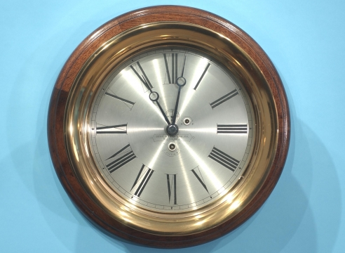 Boston Clock with Starr Brass Case