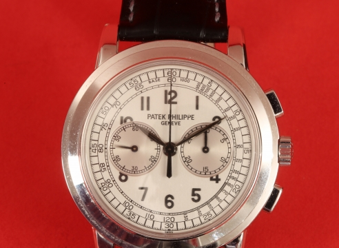 Patek Phillipe 5070 White Gold Chronograph