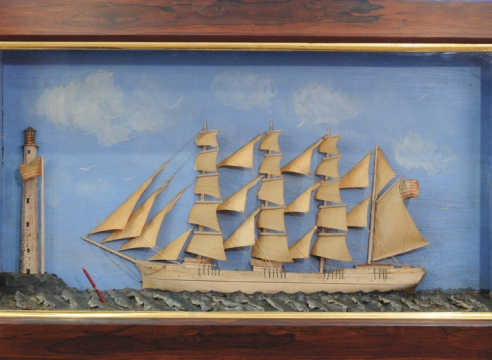 Shadow Box Model of the American Ship William P. Frye