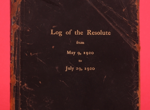 Log of the Resolute from May 9, 1920 50 July 29, 1920