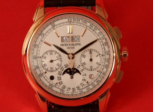 `Patek Phillipe 5270 Rose Gold Watch