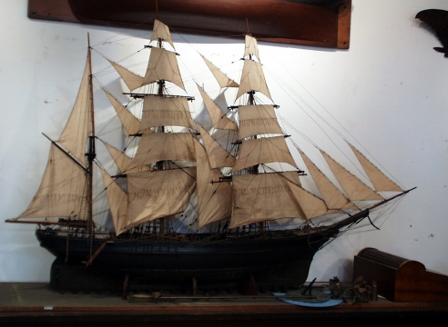 Boucher Model of a Barque
