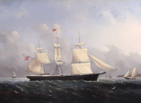 "Ship ""Harry Bluff"" by William Bradford"