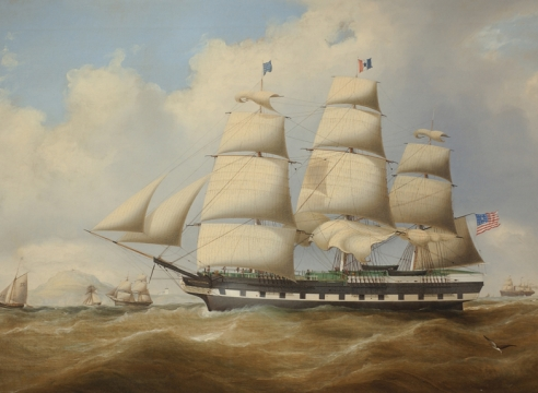 The American Ship Continent by Duncan McFarlane