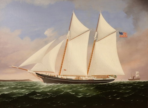 Schooner M.H. Read by C.S. Raleigh