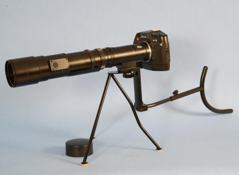 Leitz 400mm F 6.8 TELYT-R Lens with Metal shoulder Brace and Case #2435615