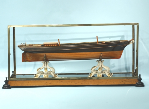 "Admiralty Style Model of the Brig ""Walborg"""