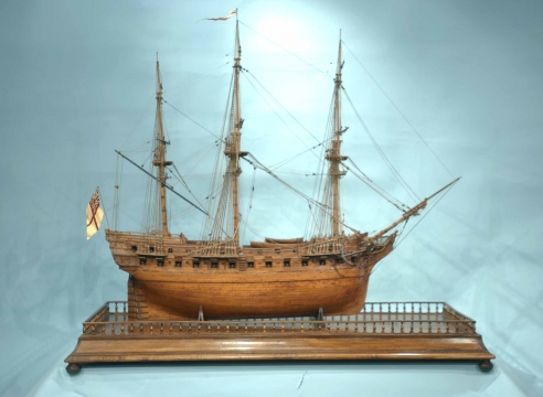 English 18th Century Frigate