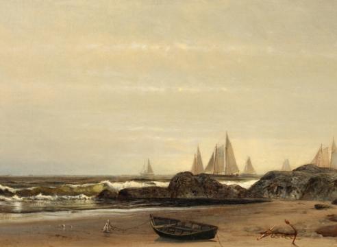 Sailing along the Shore by Arthur Quarterly