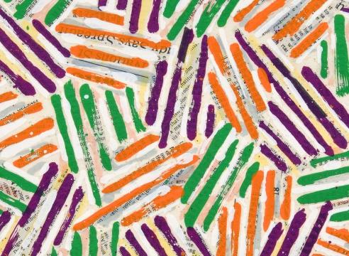 Jasper Johns catalog cover detail