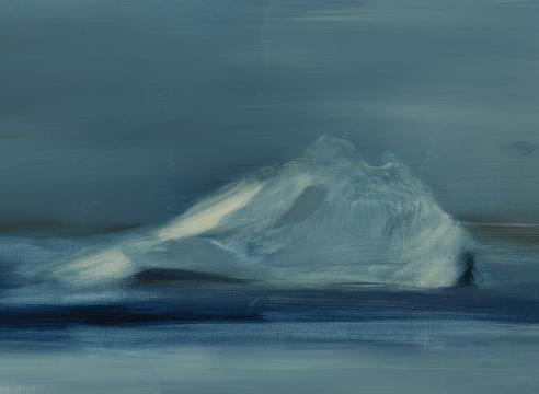 karen marston iceberg painting