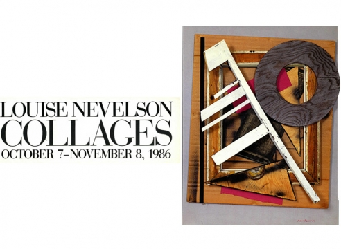 Collages Louise Nevelson