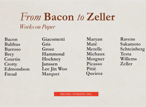 bacon zeller michel soskine