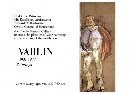 Varlin 1900 - 1977 Paintings
