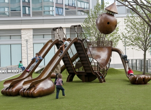 Silver Towers Playground