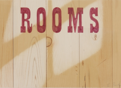 Straight From LA...Paintings and Drawings by Ed Ruscha