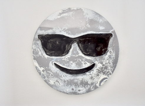 Snow- Face with glasses