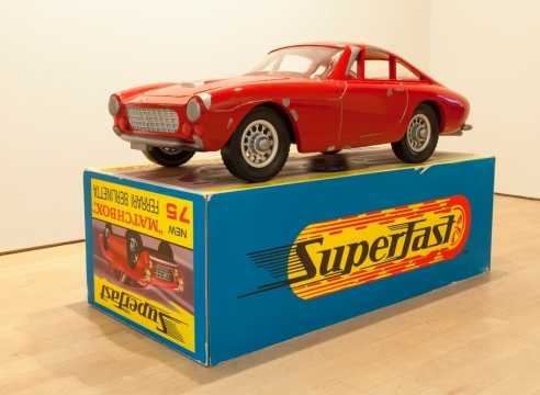 Mnemonic Vehicle #1 (Ferrari Berlinetta)