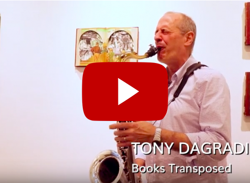 Tony Dagradi ||| Books Transposed