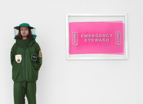 Emergency Eyewash (Carol Szymanski and Barry Schwabsky) with Lisa Blas, Judith Goldman, Siv Støldal, Tyrone Williams, and John Yau