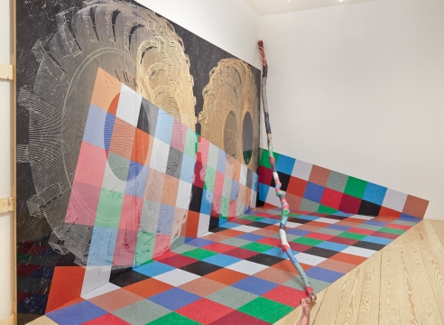 wall and floor painting