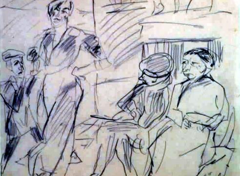 Max Beckmann & Lovis Corinth (Drawing Gallery)