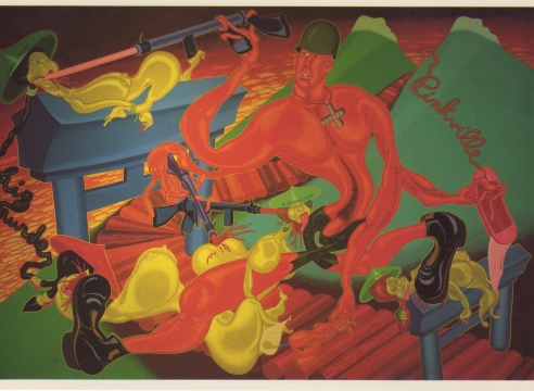 Peter Saul: Political Paintings: 1965-1971