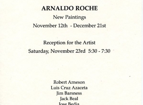 Arnaldo Roche-Rabell: New Paintings
