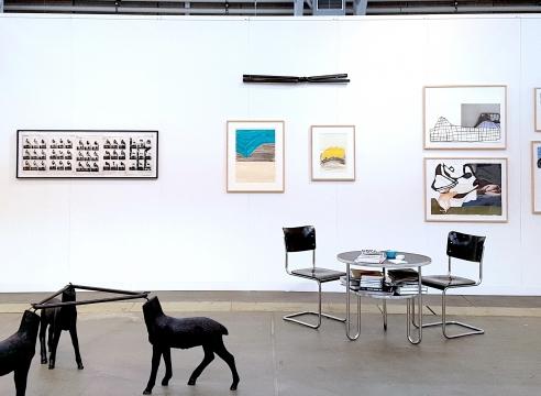 Code Art Fair - Dani Leventhal ReStack, Gary Kuehn + Erin Woodbrey