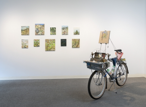 Chris Russell - Ramble - Russo Lee Gallery - May 2019 - Installation View