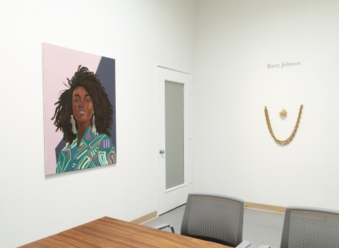 barry johnson - Latitude - Installation View - Russo Lee Gallery - The Office - May/June 2019