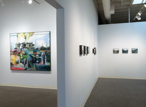 Roll Hardy - Marginal - Installation view - Russo Lee Gallery - July 2019