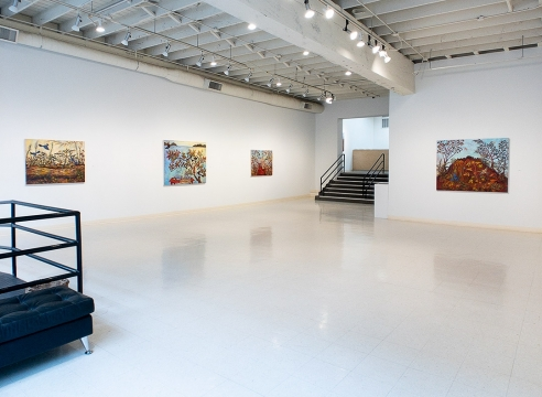 Kim Osgood - Tree Lessons - April 2019 - Russo Lee Gallery - Installation View