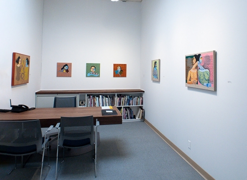 Subarna Talukder Bose - Russo Lee Gallery - In The Office - May/June 2019 - Installation View